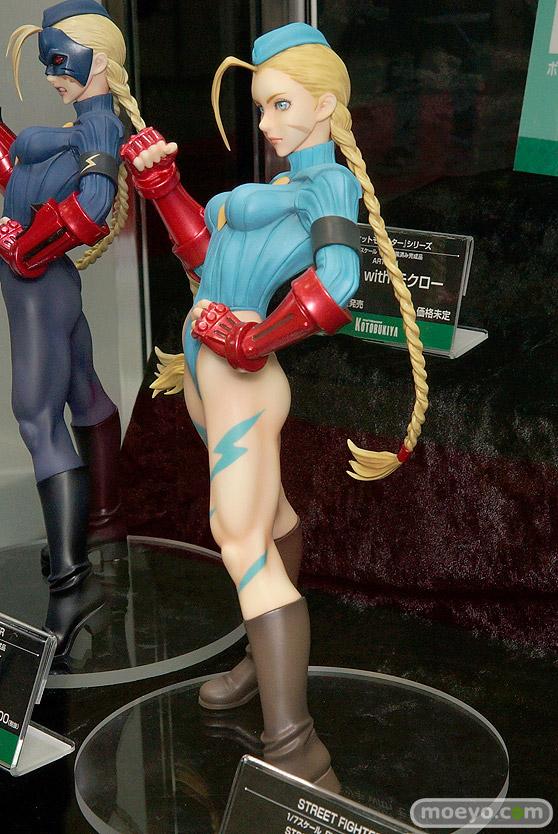 コトブキヤのSTREET FIGHTER美少女 キャミィ -ZERO COSTUME-の新作フィギュア彩色サンプル画像03