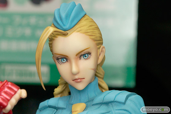 コトブキヤのSTREET FIGHTER美少女 キャミィ -ZERO COSTUME-の新作フィギュア彩色サンプル画像06