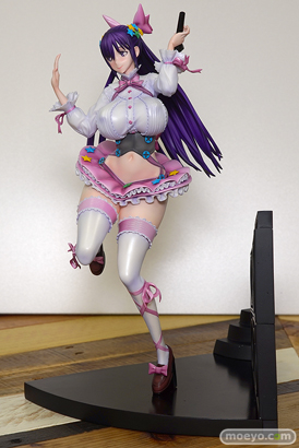 セカンドアックスのRAITAオリジナルキャラクター かぐやの新作フィギュア彩色サンプル画像10