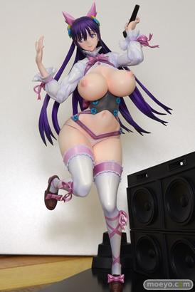 セカンドアックスのRAITAオリジナルキャラクター かぐやの新作フィギュア彩色サンプル画像31