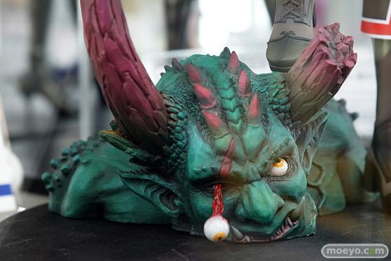 ドラゴントイの新作フィギュアエレクトさわる  鬼を狩る者 神威那(かむな)の新作フィギュア彩色サンプル画像10