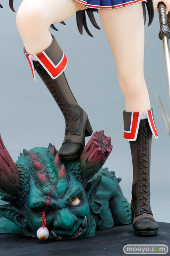 ドラゴントイの『鬼を狩る者』神威那(カムナ)の新作フィギュア彩色サンプル画像60