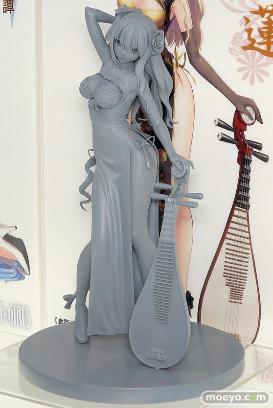 スカイチューブのT2 ART GIRLS 金漣 Jin-Lianの新作フィギュア原型画像03