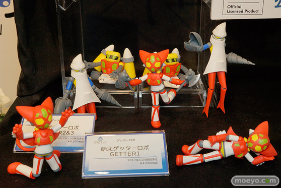 第7回カフェレオキャラクターコンベンション 会場で展示されていたフィギュア系新商品の様子26