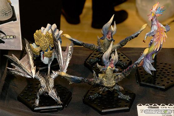 第7回カフェレオキャラクターコンベンション 会場で展示されていたフィギュア系新商品の様子47