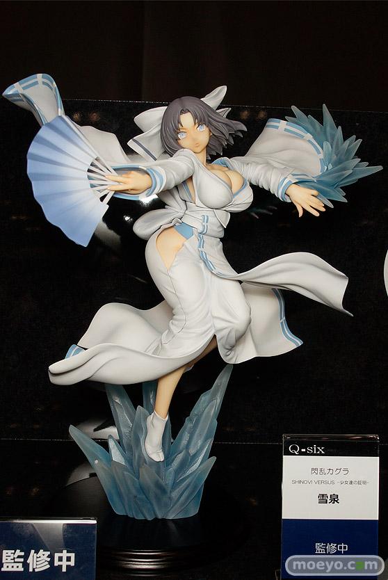 Q-sixの閃乱カグラ SHINOVI VERSUS -少女達の証明- 雪泉の新作フィギュア原型画像01
