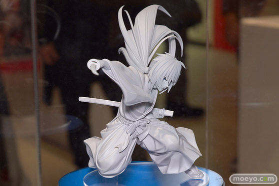 マックスファクトリー設立30周年 オメデトMAX展示会 るろうに剣心 緋村剣心の新作フィギュア彩色サンプル画像02