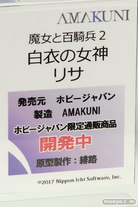 メガホビEXPO 2017 Autumn 新作フィギュア展示の様子 ホビージャパン17