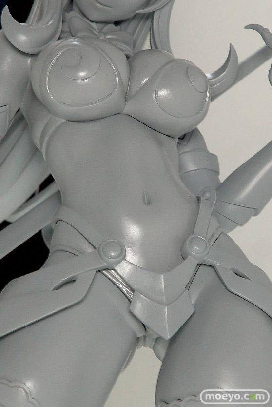 ホビージャパンのクイーンズブレイド UNLIMITED 絶影の追跡者 エリナの新作フィギュア原型画像07
