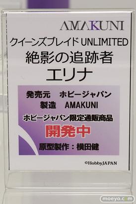 ホビージャパンのクイーンズブレイド UNLIMITED 絶影の追跡者 エリナの新作フィギュア原型画像12