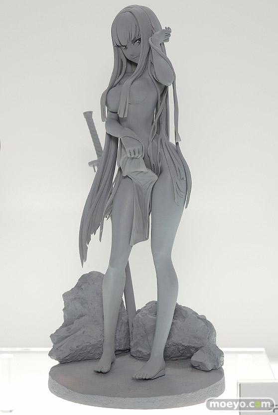 ホビージャパンのキルラキル鬼龍院皐月 -温泉三昧 Ver.の新作フィギュア原型画像-01