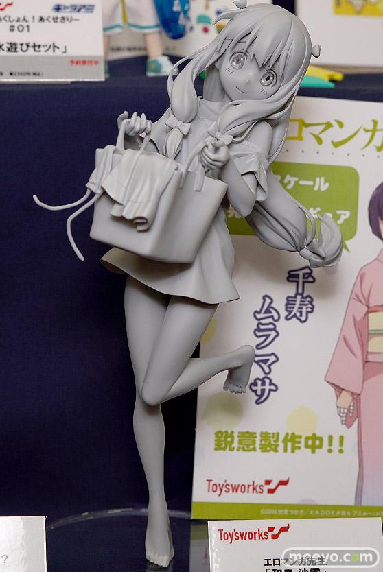 キャラアニのエロマンガ先生 和泉紗霧 の新作フィギュア原型画像01