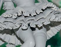 メガハウスの新作フィギュア「クイーンズブレイド UNLIMITED 冥土へ誘うもの アイリ」監修中原型が展示!【メガホビ2017秋】