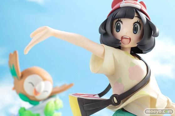 コトブキヤのARTFX J 『ポケットモンスター』シリーズ ミヅキ with モクローの新作フィギュア彩色サンプル画像15
