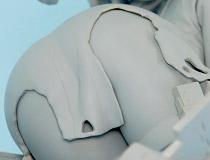 圧倒的尻力!マックスファクトリー新作フィギュア「艦隊これくしょん-艦これ- サラトガ 中破 Ver.」監修中原型が展示!【WF2018冬】