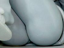ファインクローバーの新作フィギュア「ガヴリールドロップアウト 天真=ガヴリール=ホワイト」監修中原型が展示!【2018冬合同展示会】