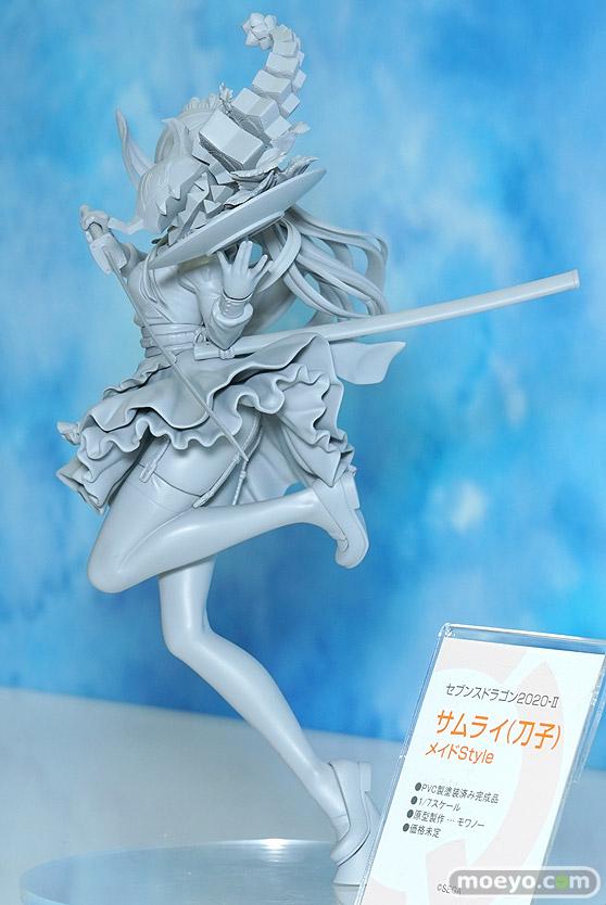 キューズQのセブンスドラゴン2020-II サムライ(刀子) メイドStyleの新作フィギュア原型画像03