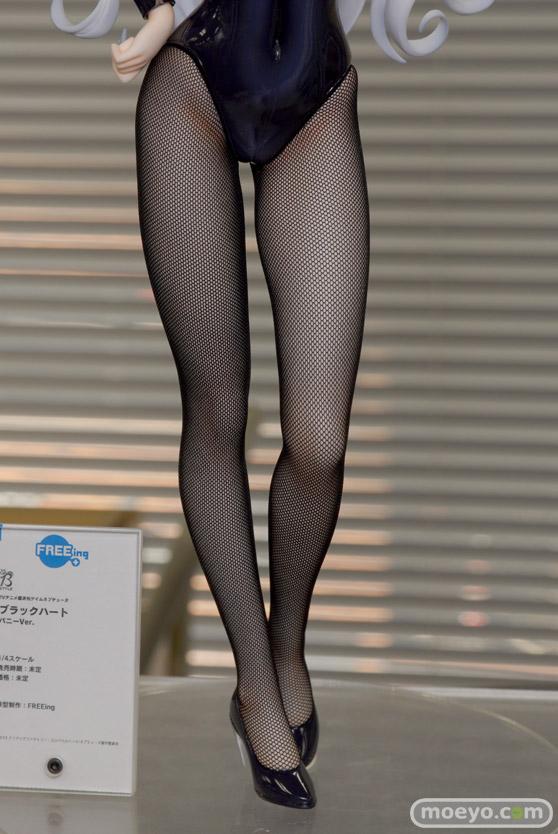 フリーイングのB-style 超次元ゲイム ネプテューヌ ブラックハート バニーVer.の新作フィギュア彩色サンプル画像09