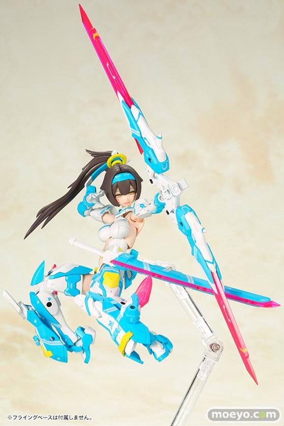 コトブキヤの メガミデバイス 朱羅 弓兵 蒼衣 の新作プラモデル彩色サンプル画像01