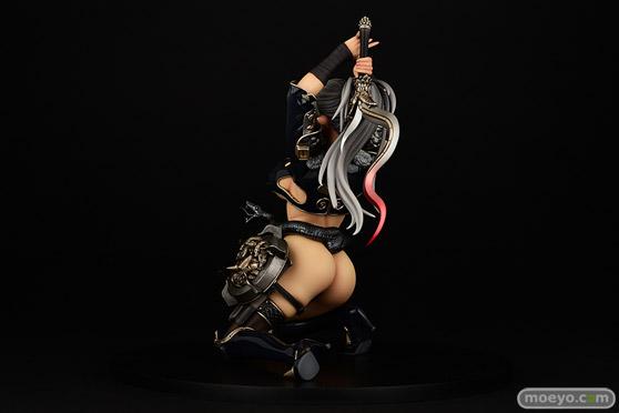 オルカトイズの クイーンズブレイド 歴戦の傭兵 エキドナ:High Quality Edition:ver.DARKNESS の新作フィギュア彩色サンプルキャストオフ画像08