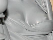 スカイチューブ新作フィギュア「美少女万華鏡 -呪われし伝説の少女- 篝ノ霧江 illustration by 八宝備仁」監修中原型が展示!【WF2018冬】
