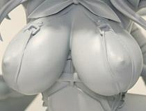葵渚さんの完全オリジナル描き下ろしイラストを立体化!クイーンテッド新作フィギュア「クリエイターシリーズ ドMサキュバス」監修中原型が展示!