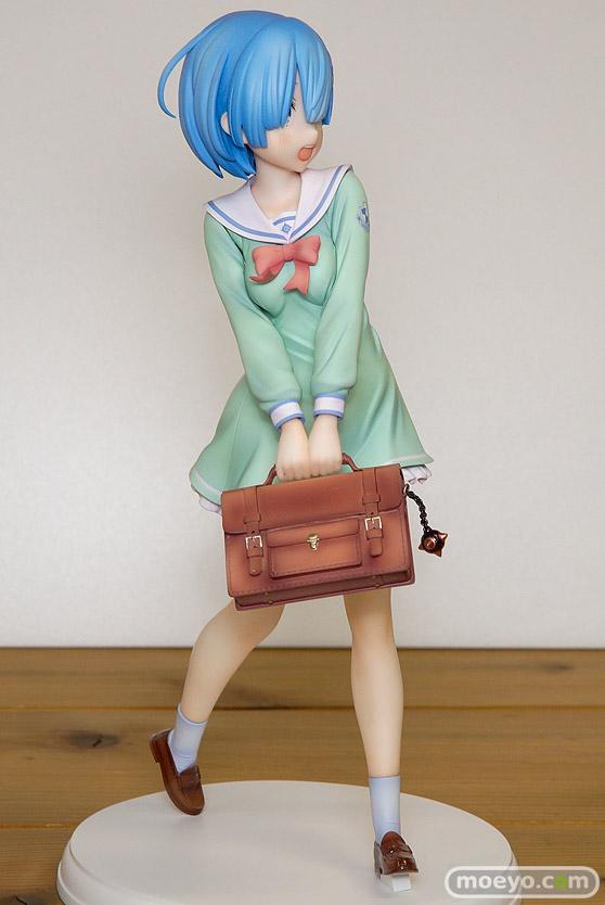 KADOKAWAのRe:ゼロから始める異世界生活 レム 学生服Ver.の新作フィギュア彩色サンプル画像03