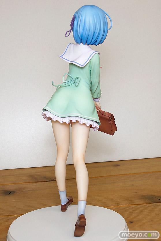 KADOKAWAのRe:ゼロから始める異世界生活 レム 学生服Ver.の新作フィギュア彩色サンプル画像06