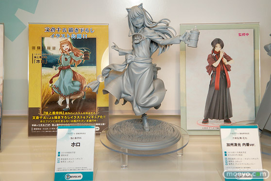 第8回 カフェレオ キャラクター コンベンション 会場での新作フィギュア展示の様子11