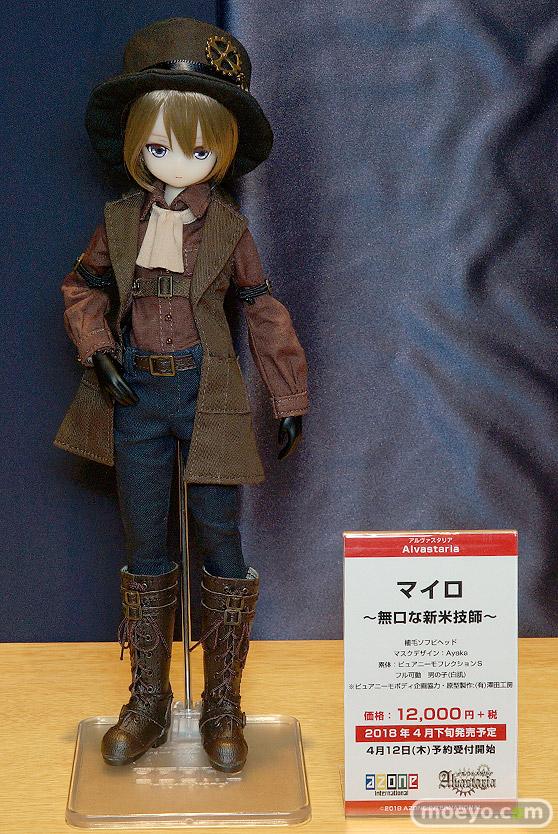 第8回 カフェレオ キャラクター コンベンション 会場での新作フィギュア展示の様子16