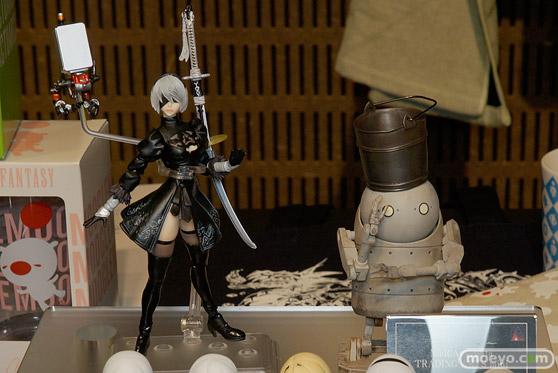 第8回 カフェレオ キャラクター コンベンション 会場での新作フィギュア展示の様子43