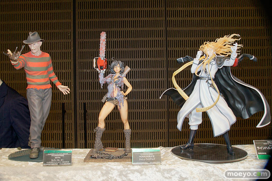 第8回 カフェレオ キャラクター コンベンション 会場での新作フィギュア展示の様子49