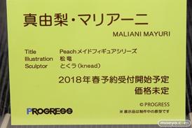 プログレスのPeach メイドフィギュアシリーズ 真由梨・マリアーニの新作フィギュア原型画像13