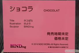BINDingのネコぱら ショコラの新作アダルトフィギュア原型画像12