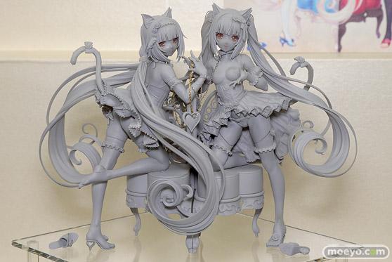 ネイティブのネコぱら バニラ&ショコラの新作アダルトフィギュア原型画像01