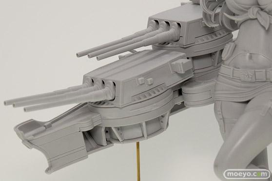 ホビージャパンの艦隊これくしょん-艦これ- Iowaアイオワの新作フィギュア原型撮りおろし画像08