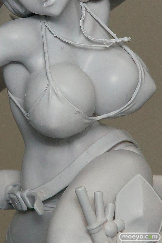 オルカトイズのフェアリーテイル エルザ・スカーレット(仮)の新作フィギュア無彩色サンプル画像06