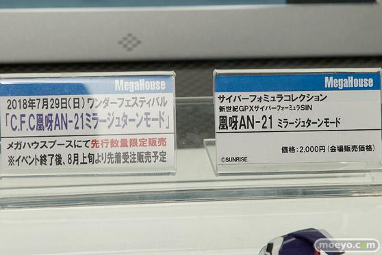 メガホビEXPO2018 Spring 新作フィギュア展示の様子 メガハウス リボルブ アニプレックス32