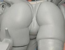 ロケットボーイ新作フィギュア「momi メロンブックスタペストリー 七海葵」監修中原型が展示!【エロホビ】