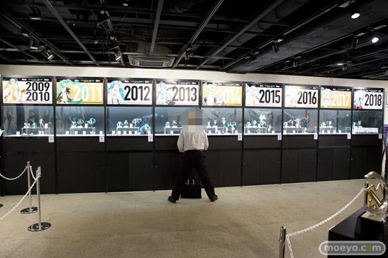 初音ミクGTプロジェクト10周年展示会 会場の様子20