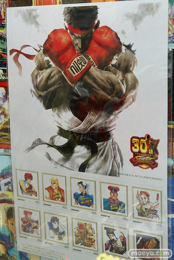 コトブキヤの「ストリートファイター」 30周年記念フレーム切手セットの新作フィギュア彩色サンプル画像08