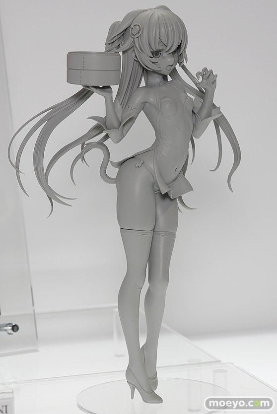 ホビージャパンの褐色チャイナ娘(仮)の新作フィギュア原型画像02