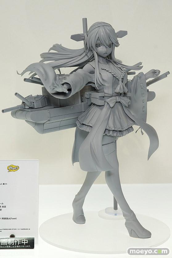 ファット・カンパニーの艦隊これくしょん-艦これ- 榛名の新作フィギュア原型画像01