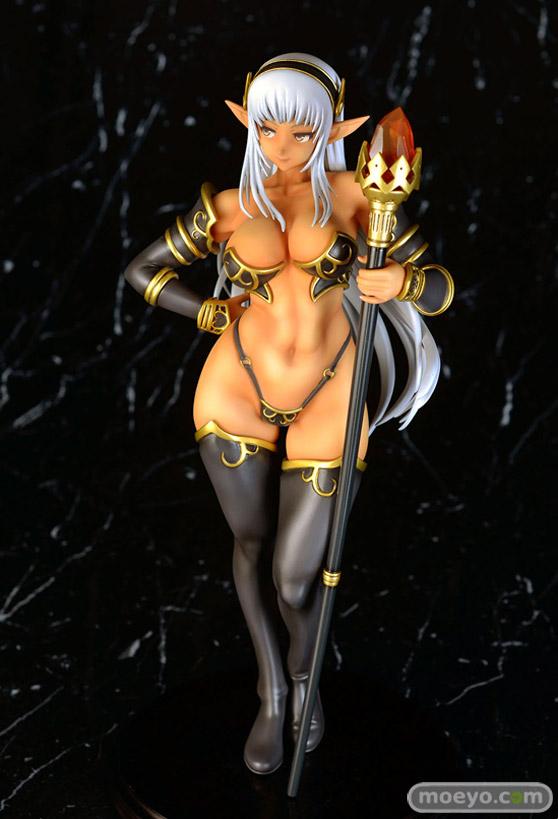 Q-sixのドラゴンズクラウン 黒エルフの魔獣使いの新作フィギュア彩色サンプル画像03