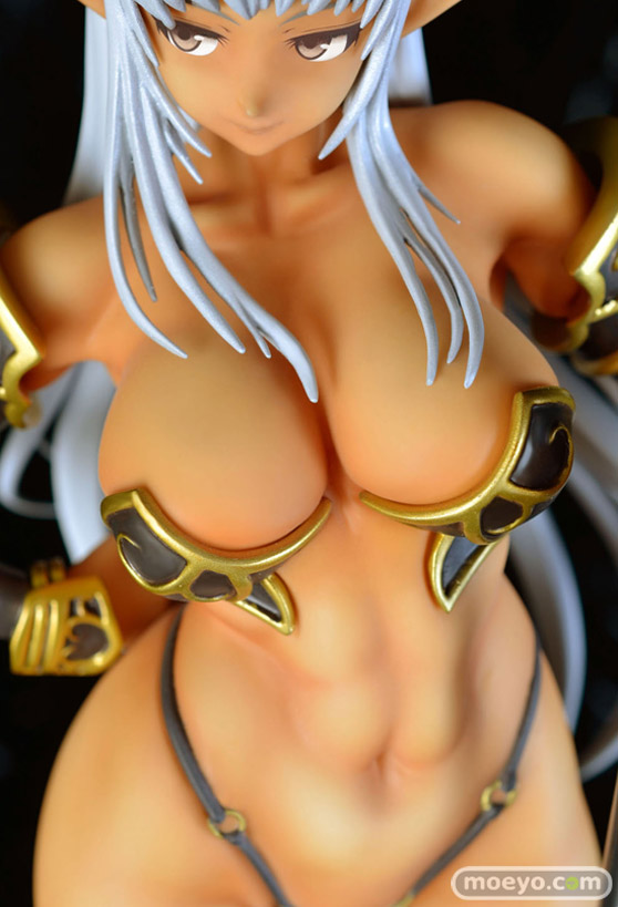 Q-sixのドラゴンズクラウン 黒エルフの魔獣使いの新作フィギュア彩色サンプル画像12