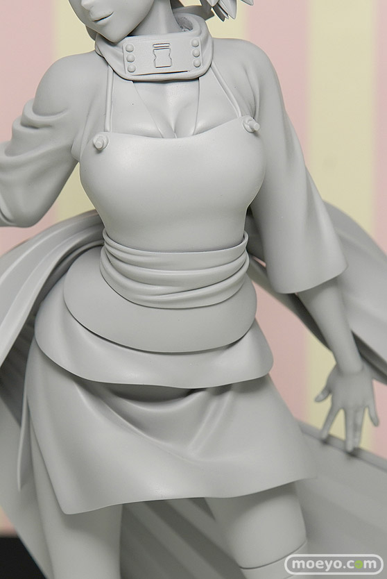 メガハウスのNARUTOギャルズ テマリの新作フィギュア原型画像06