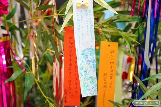 JR秋葉原駅にて〈物語〉シリーズ「七夕展示」の開催06