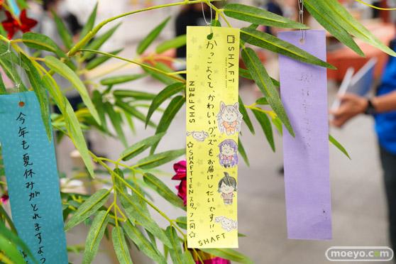 JR秋葉原駅にて〈物語〉シリーズ「七夕展示」の開催13