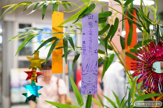 JR秋葉原駅にて〈物語〉シリーズ「七夕展示」の開催17