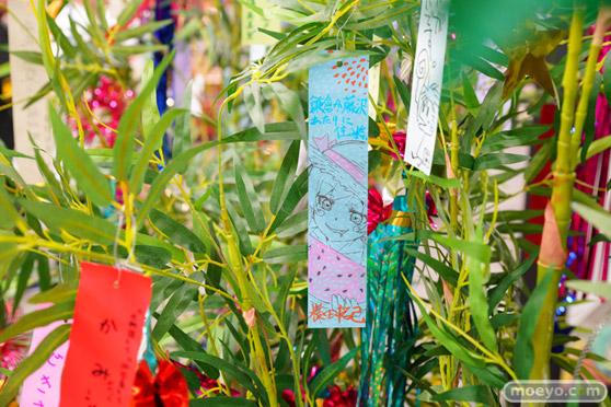 JR秋葉原駅にて〈物語〉シリーズ「七夕展示」の開催19